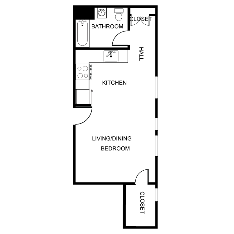 Floor plan image of The Liberty