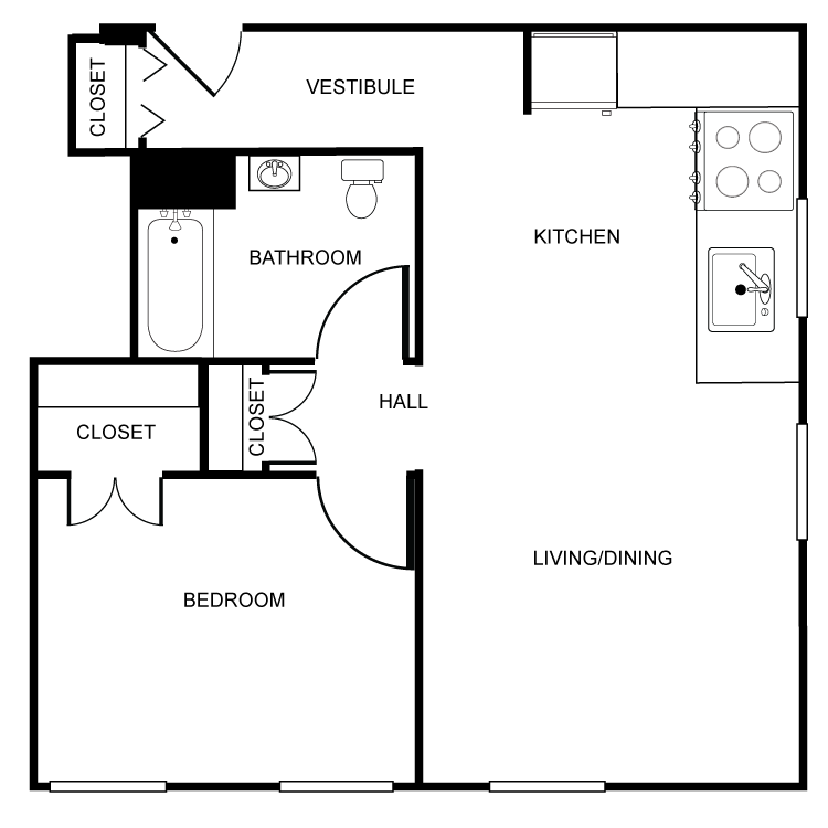 Floor plan image of The Newburgh