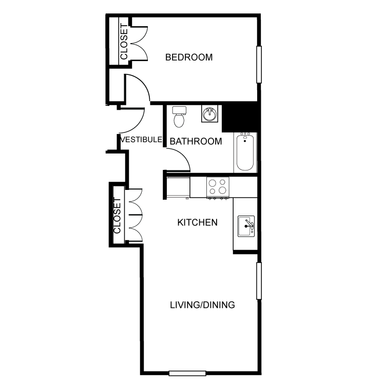 Floor plan image of The Washington