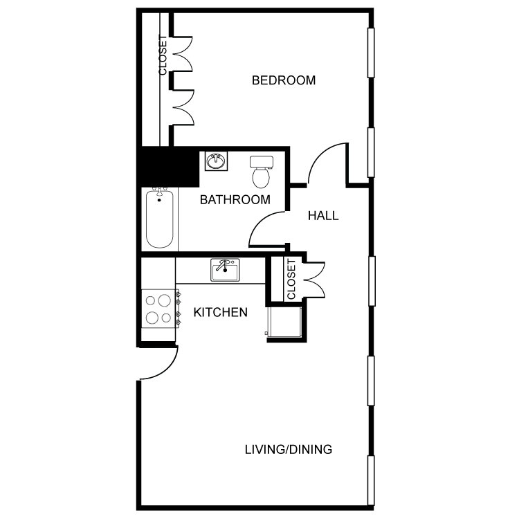 Floor plan image of The Woodlawn