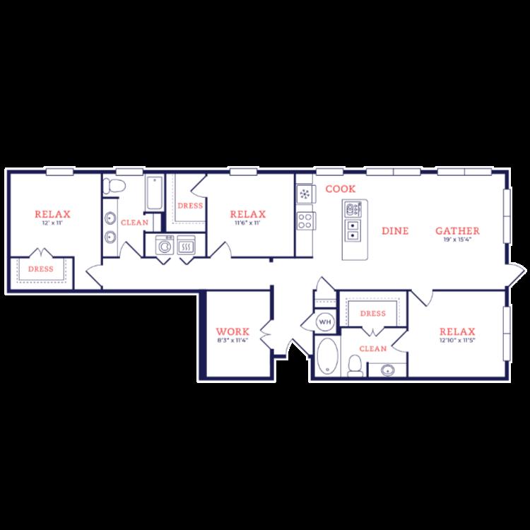 Floor plan image of Breuer