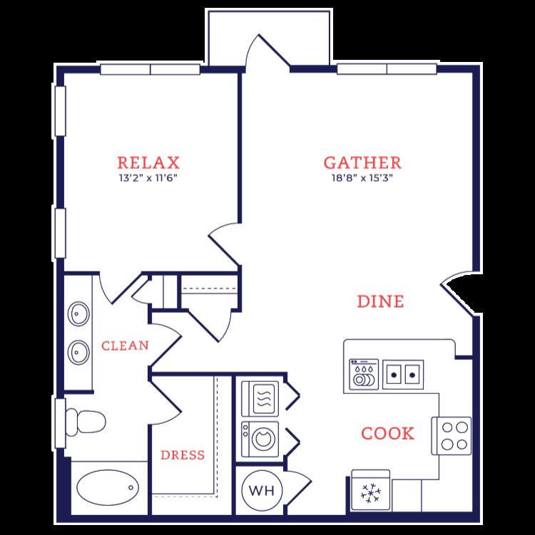 Floor plan image of Girard