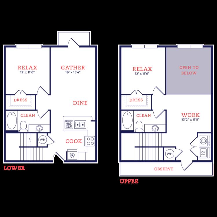 Floor plan image of Jacobsen