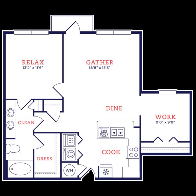 Floor plan image of Knoll