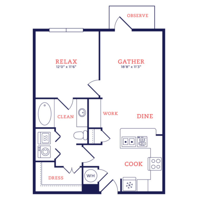Floor plan image of Nelson