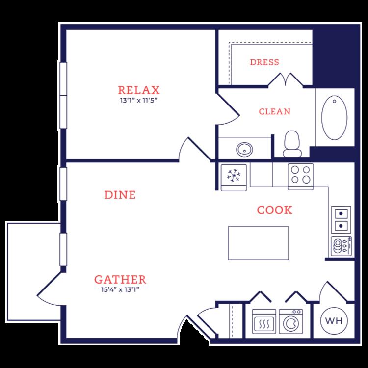 Floor plan image of Oscar