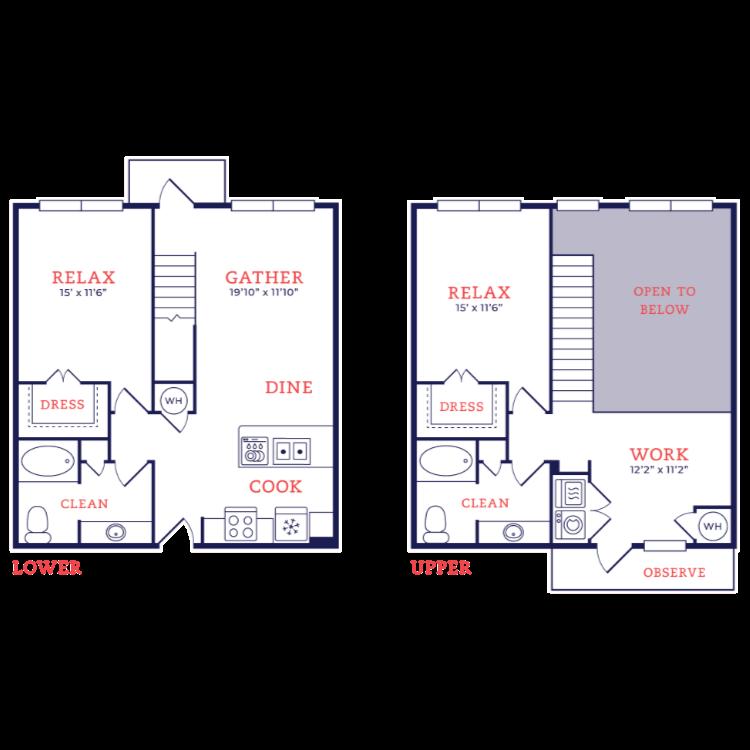 Floor plan image of Starck