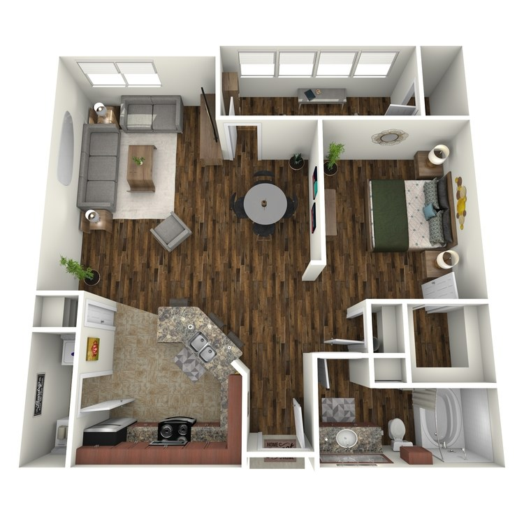 Floor plan image of A3A