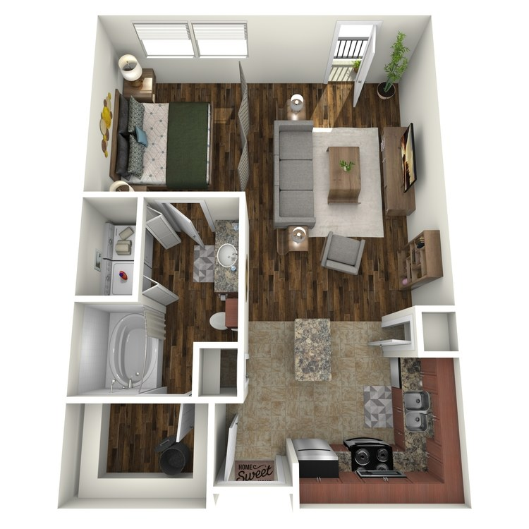 Floor plan image of E1