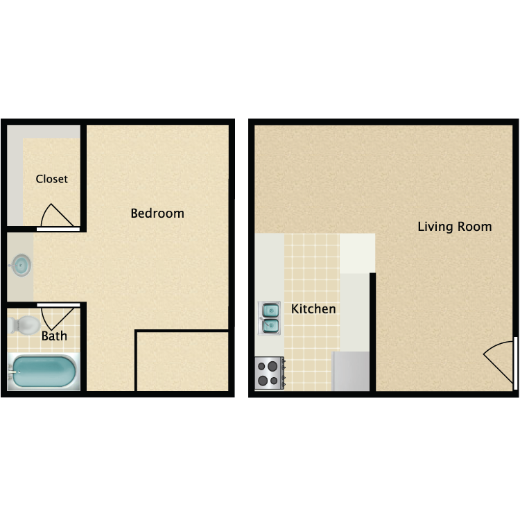 Floor plan image of Loft