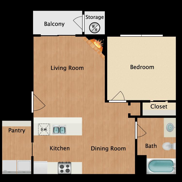 The Villa floor plan image