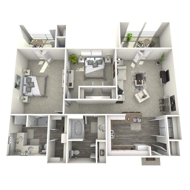 Floor plan image of Coltrane