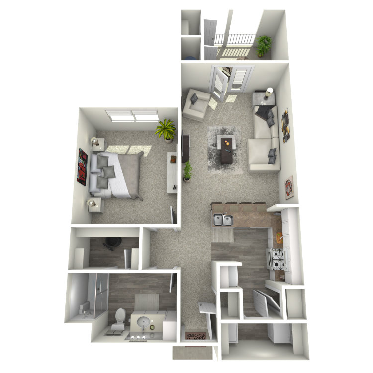 Floor plan image of Miller