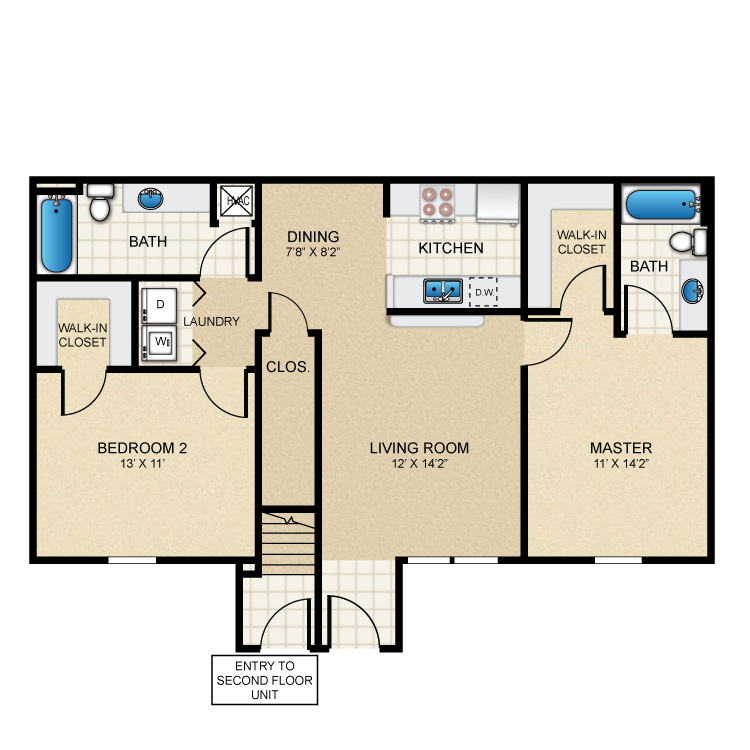 Casita Floor Plans Puerta Villa At Cimarron 1 Bedroom El