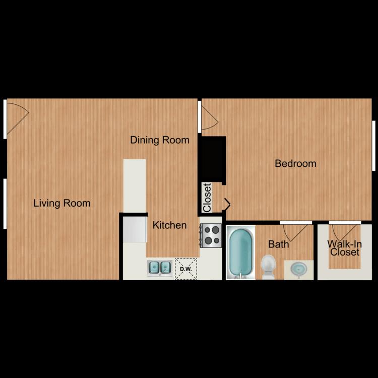 Tulip floor plan image