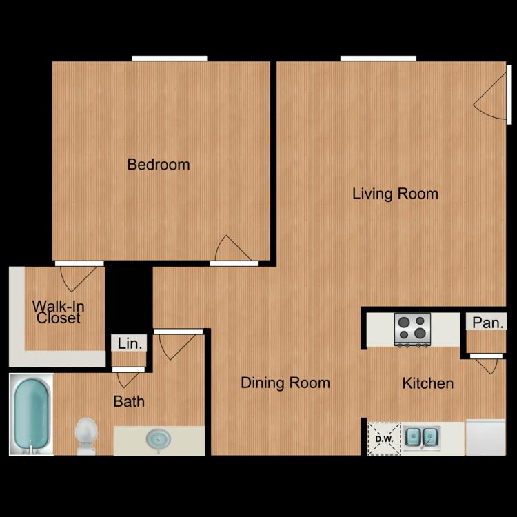 Rose floor plan image
