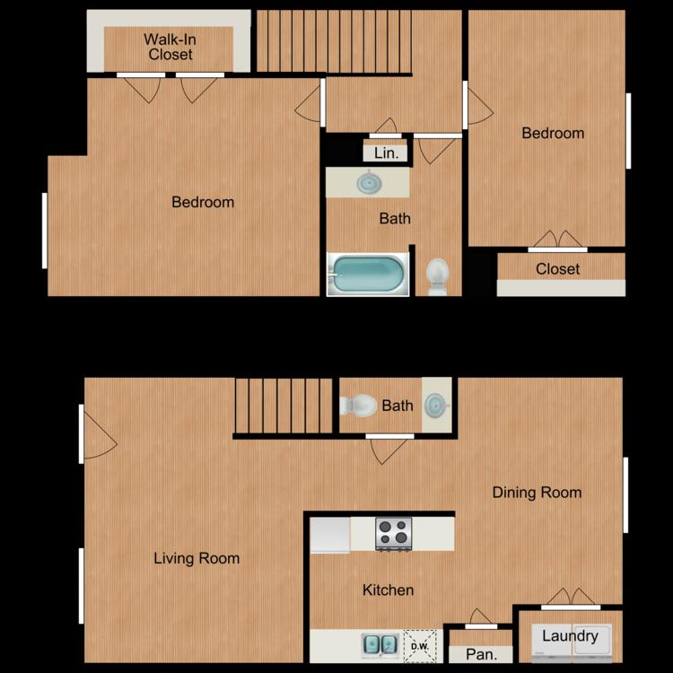 Ivy floor plan image