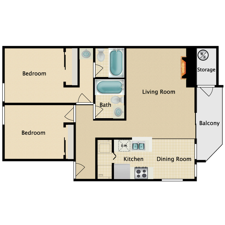 Floor plan image of The Gables