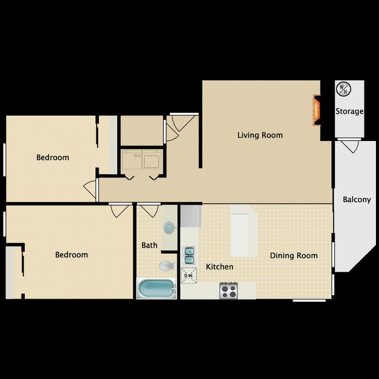 Floor plan image of The Manor