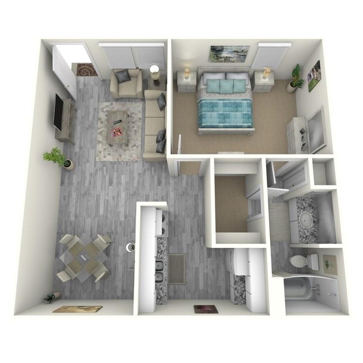 Floor plan image of A4-1