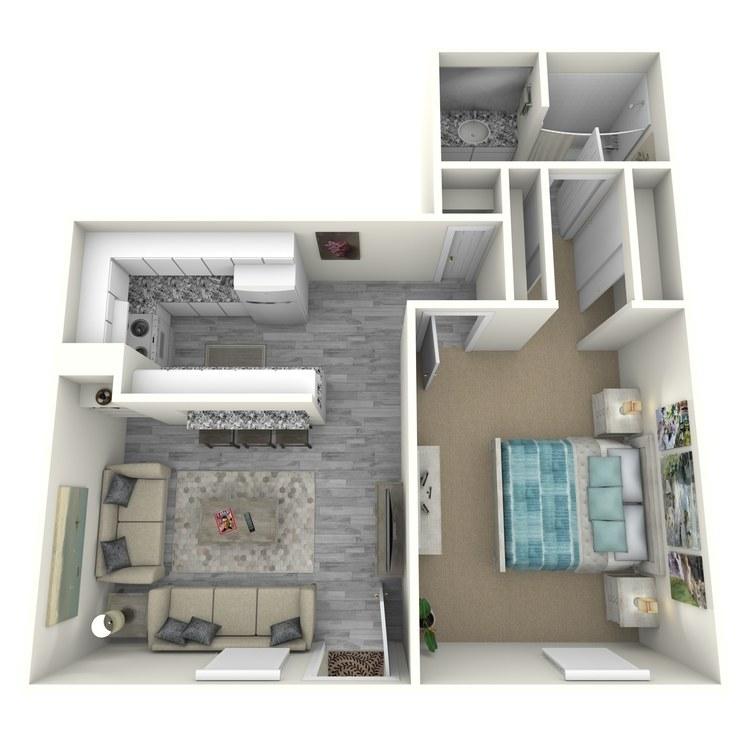 Floor plan image of A3-1