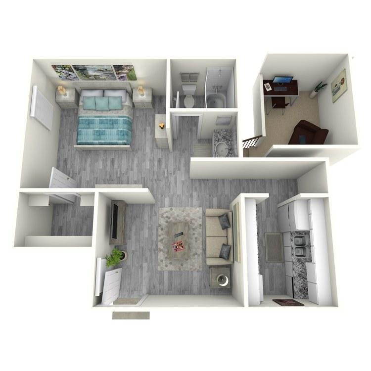 Floor plan image of A1-1