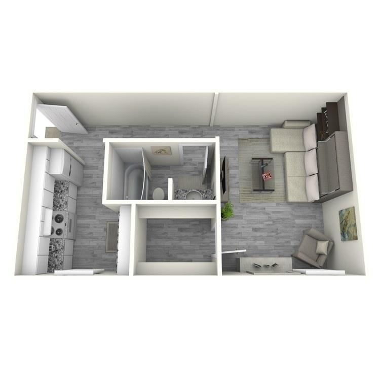 Floor plan image of E1-1