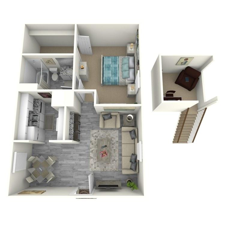 Floor plan image of A6-1