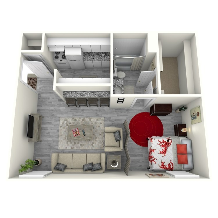 Floor plan image of E2-1