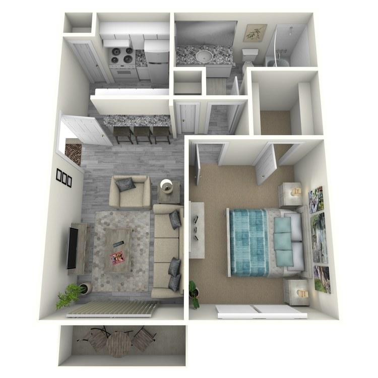 Floor plan image of A1-2