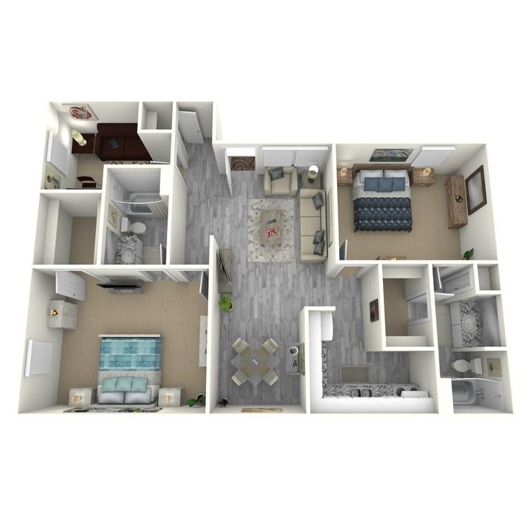 Floor plan image of B3-1