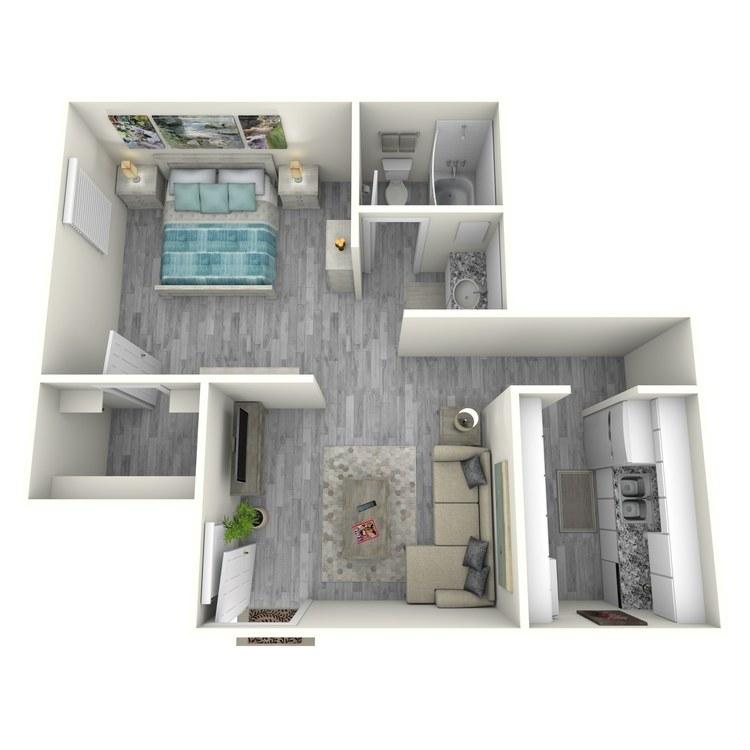 Floor plan image of A2-1