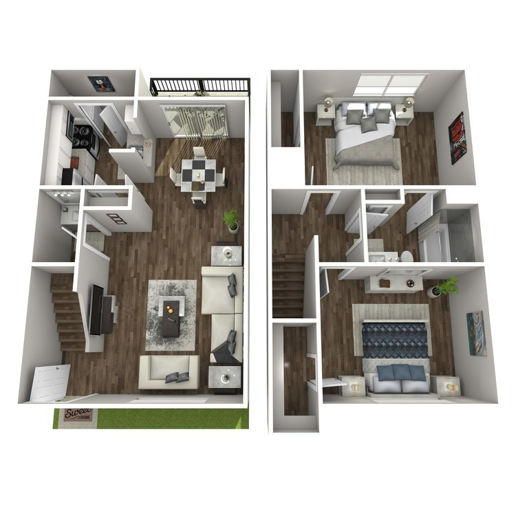 Floor plan image of B6 TH