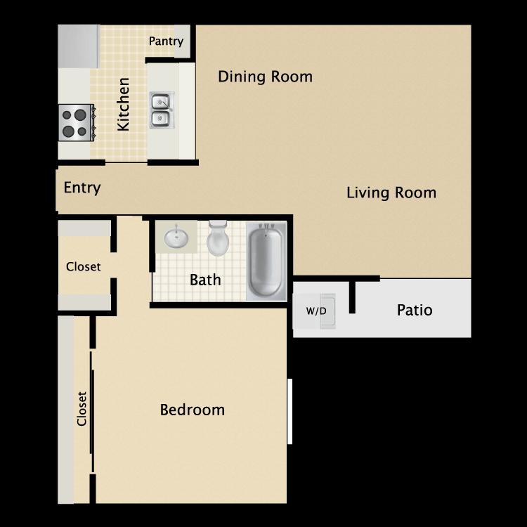 Floor plan image of Plan A2
