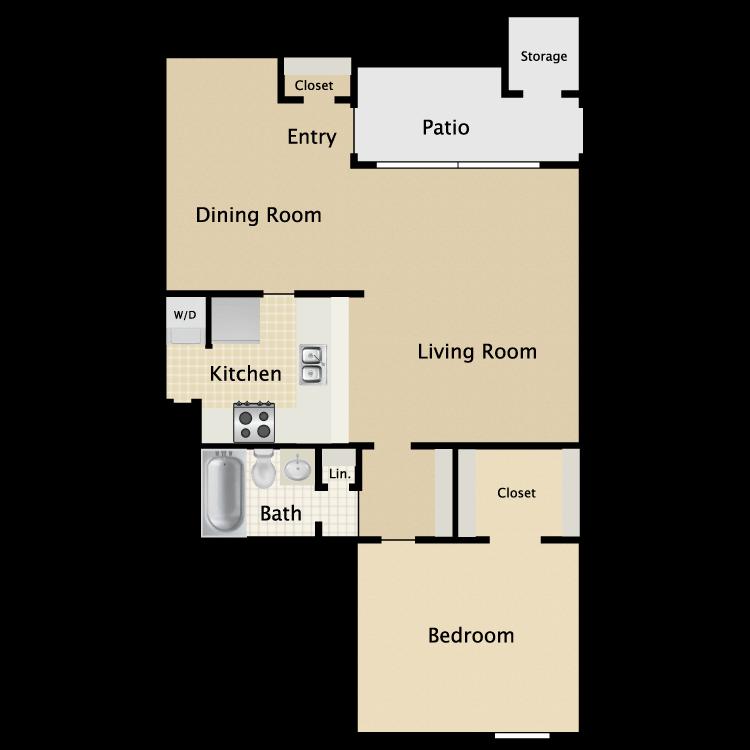 Floor plan image of Plan A3