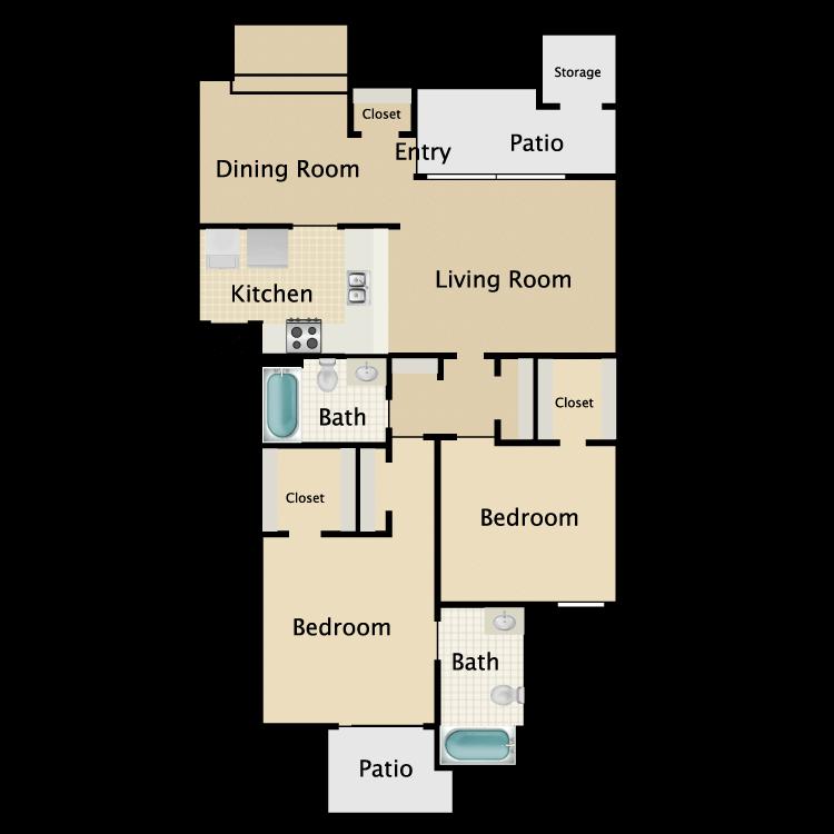 Floor plan image of Plan C4