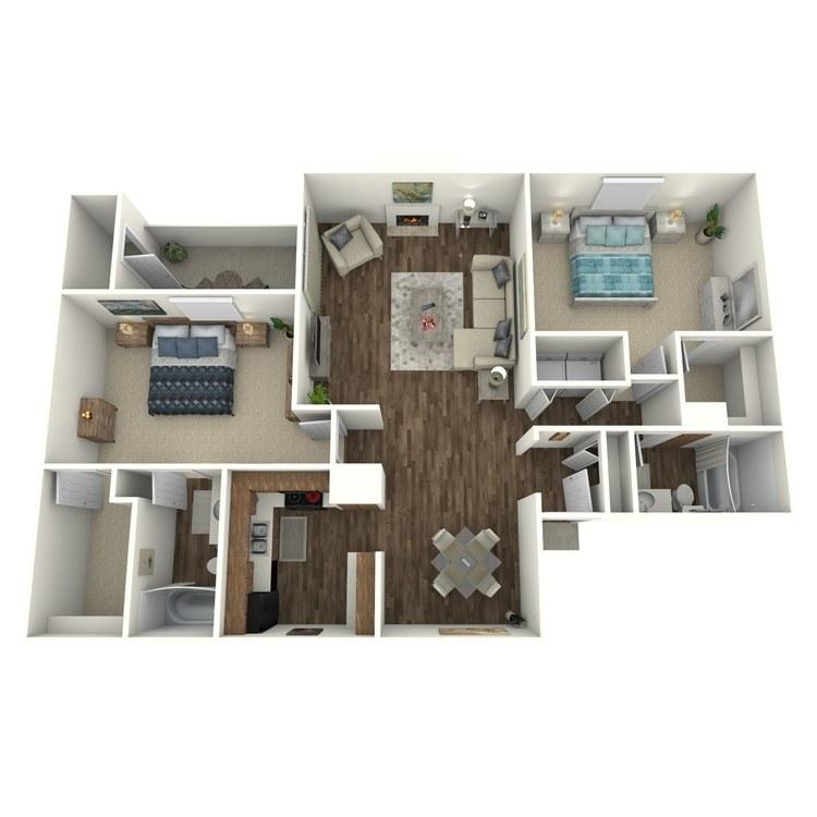Floor plan image of C-3