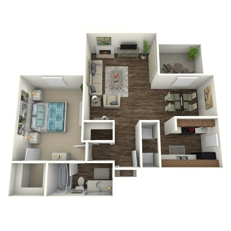 Floor plan image of A-3