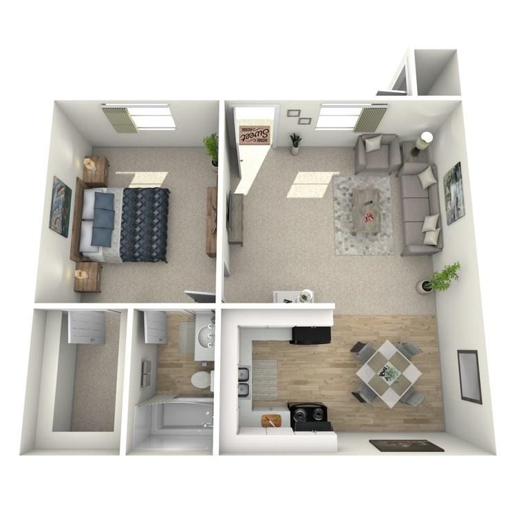 Floor plan image of Milan