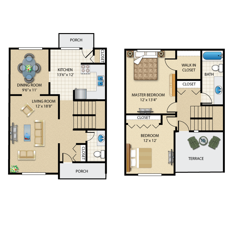 Floor plan image of The Hillcrest