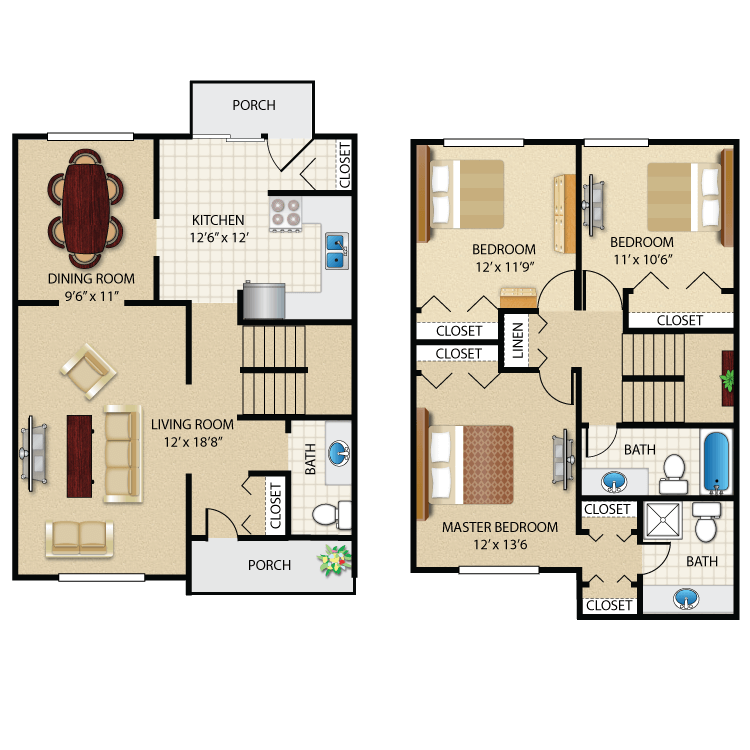 Floor plan image of The Justin