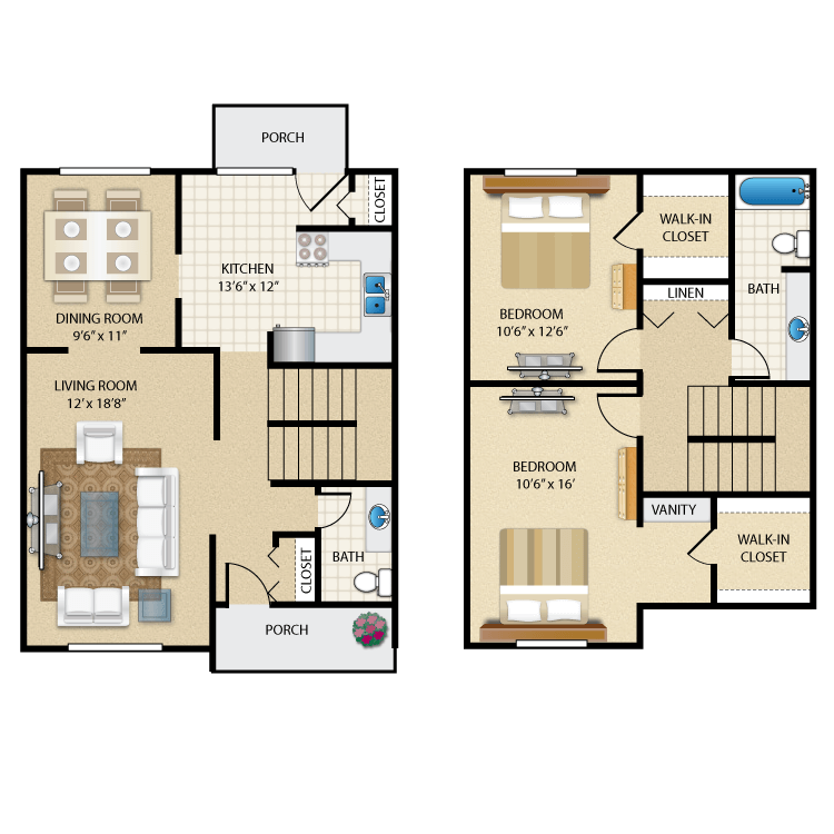 Floor plan image of The Newbury