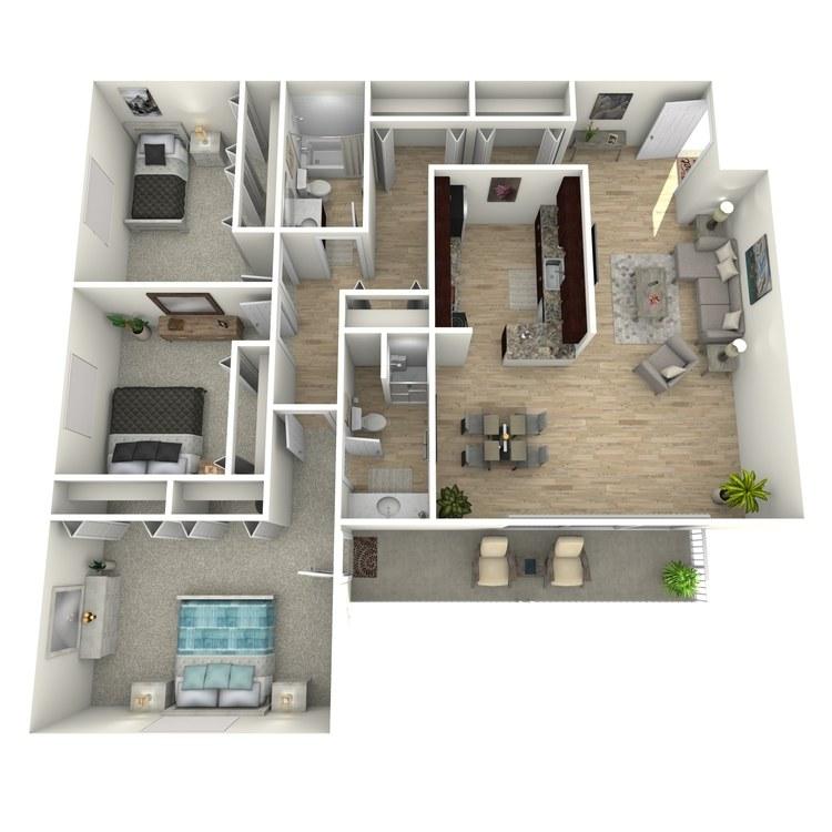 Floor plan image of The Clarendon