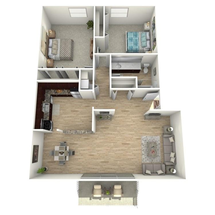 Floor plan image of The Valient