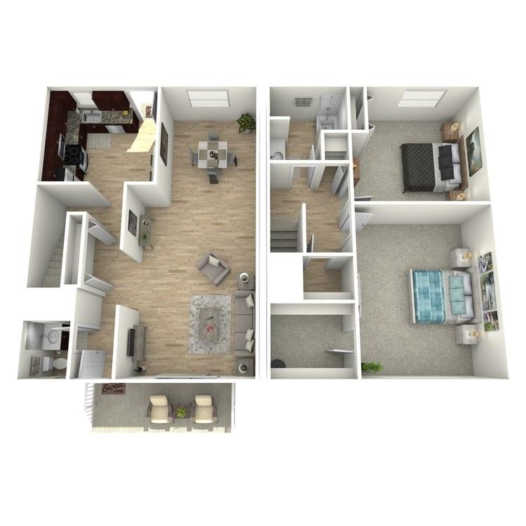 Floor plan image of The Pembroke