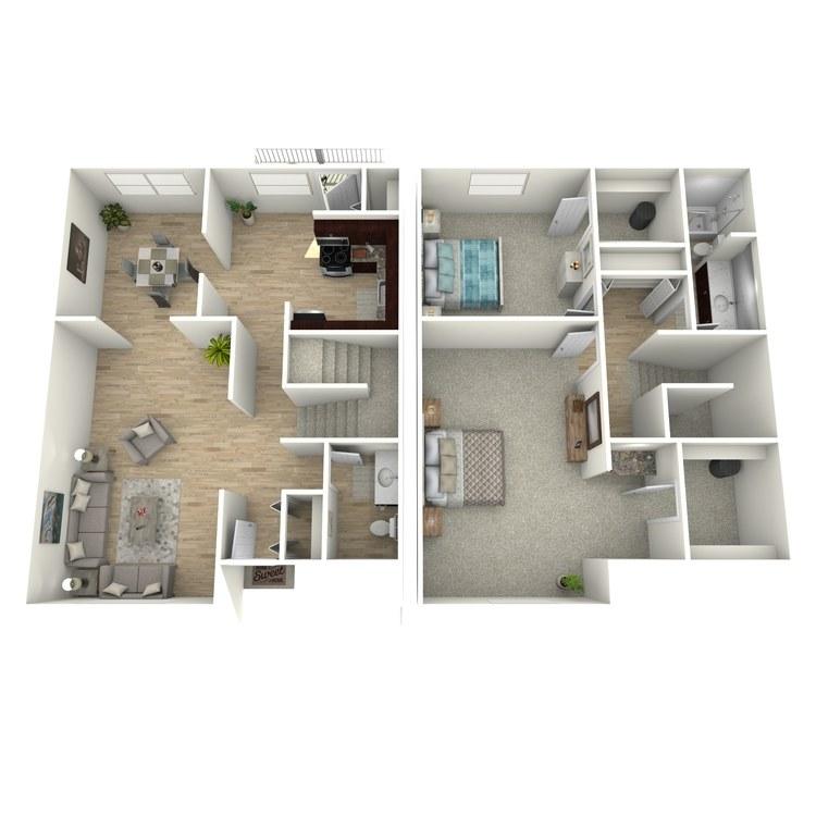 Floor plan image of The Newbury