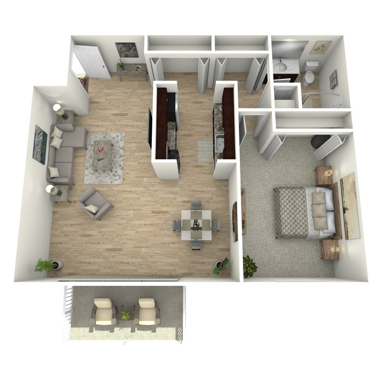 Floor plan image of The Allenby