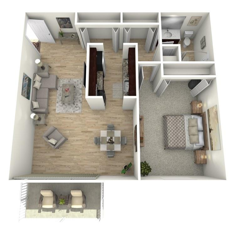 Floor plan image of The Somerset LK