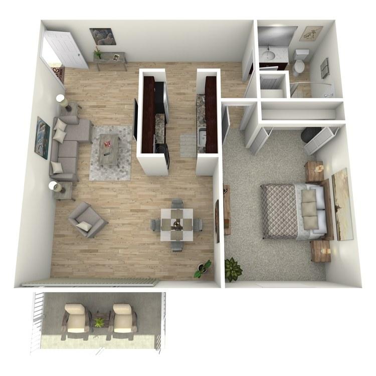 Floor plan image of Kingsley