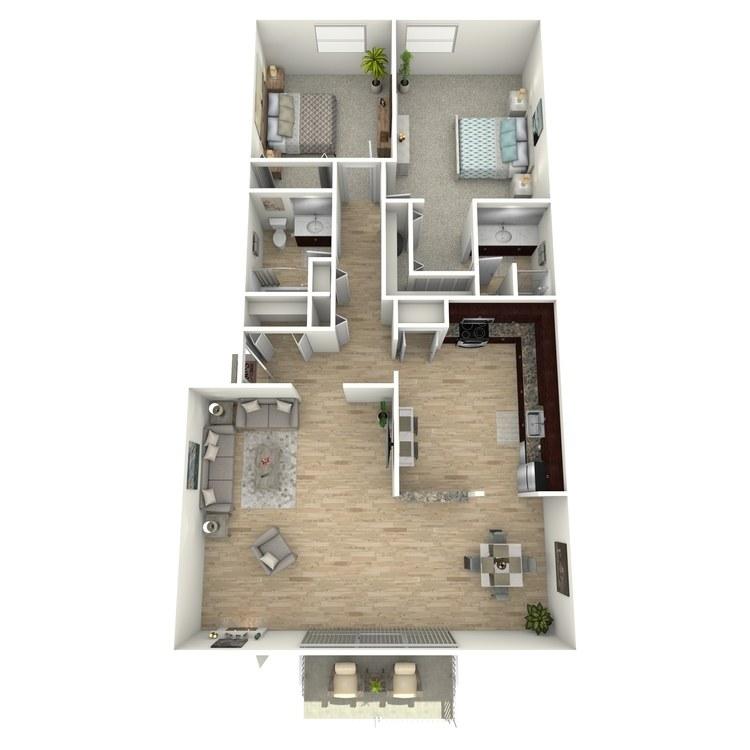 Floor plan image of The Marlowe